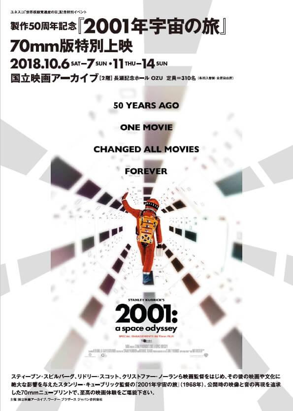 2001年 宇宙の旅 公開50周年へ